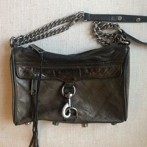 Rebecca Minkoff Mini MAC Bag in Dark Grey